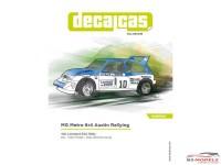 "DCLDEC039 MG Metro 6r4 ""Austin Rallying""  RAC Rally 1985 Waterslide decal Decal"
