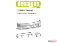 DCLPAR035 Peugeot 306 Maxi EVO II  Transkit Resin Transkit