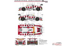 "LB24020 Audi R8 LMS ""KFC Racing""  Australian GT Trophy 2020 Waterslide decal Decal"