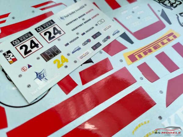 "LB24020 Audi R8 LMS ""KFC Racing""  Australian GT Trophy 2020 Waterslide decal Decal"