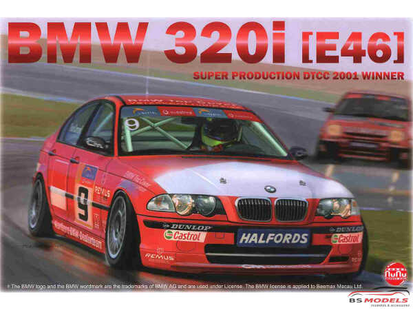 NU24007 BMW 320i E46 Plastic Kit