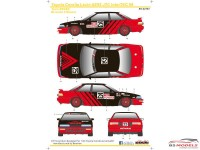 SK24103 Toyota Corolla Levin AE92 JTC InterTEC 1989 Waterslide decal Decal