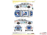 SK24112 BMW 320i E46 Macau Guia  2002  (Team Carly Motors) Waterslide decal Decal
