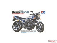 TAM14066 Honda CB750F Custom Tuned Plastic Kit