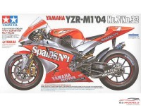 TAM14100 Yamaha YZR-M1  '04  No 7/33 Plastic Kit