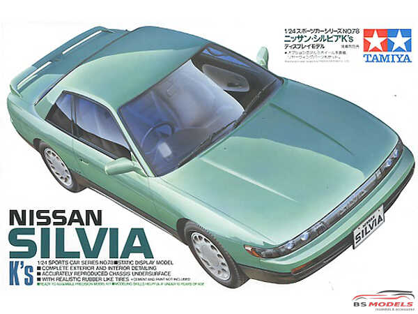 TAM24078 Nissan Silvia K's S13 Plastic Kit