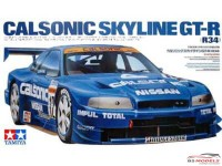 TAM24219 Nissan Calsonic R34 Skyline GT-R Plastic Kit