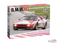ITA3643 BMW M1 Pro car Plastic Kit