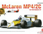 PN20001 Mclaren MP4/2c  Portugal GP 1986  #1 #2 Plastic Kit