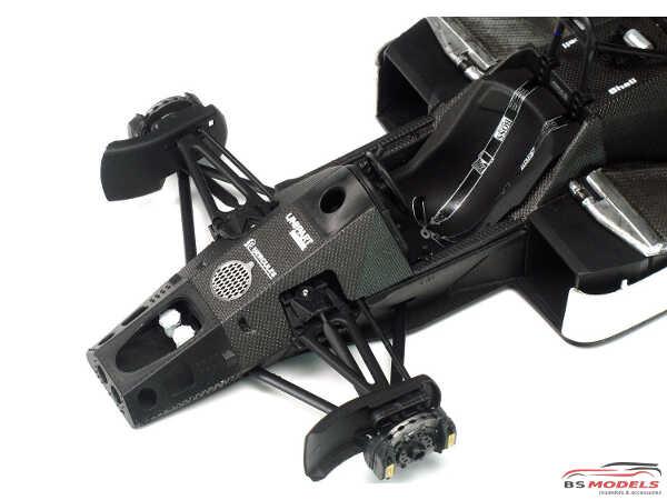 PN20001 Mclaren MP4/2c  Portugal GP 1986  #1 #2 Plastic Kit
