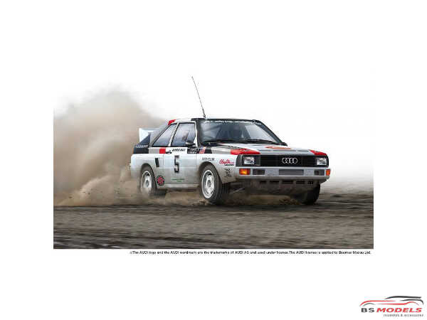PN24023 Audi S1 Olympus Rally 1986 Plastic Kit