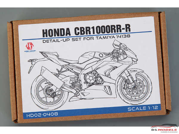 HD020408 Honda CBR1000RR-R  Detail set  For T 14138 Multimedia Accessoires