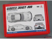 HD030585 LB-Silhouette Works GT 35GT-RR   Full Detail kit Multimedia Kit