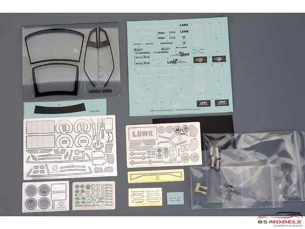 HD030585 LB-Silhouette Works GT 35GT-RR   Full Detail kit Multimedia Kit