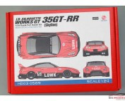 "HD030589 LB-Silhouette Works GT 35GT-RR  ""Skyline Special""  Full Detail kit Multimedia Kit"