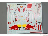 "HD040173 Audi R8 ""Red Bull""  for NuNu Waterslide decal Decal"