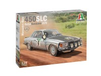 ITA3632S Mercedes 450 SLC Rally Bandama 1979 Plastic Kit