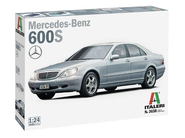 ITA3638S Mercedes-Benz 600S Plastic Kit