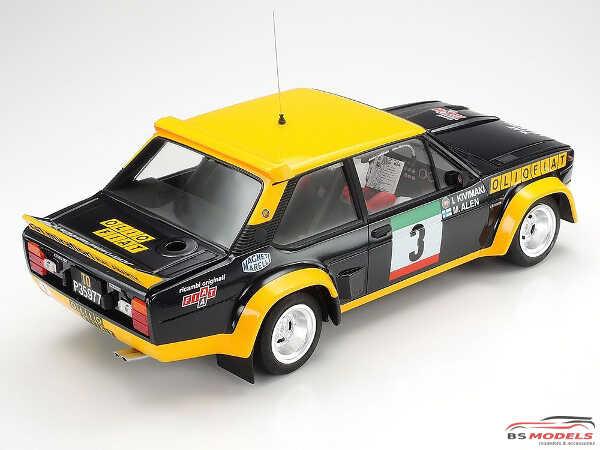 TAM20069 Fiat 131 Abarth Rally Olia Fiat Plastic Kit
