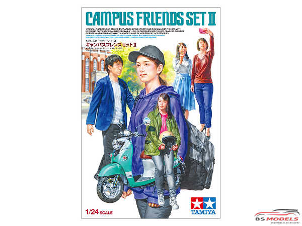 TAM24356 Campus Friends Set II Plastic Kit