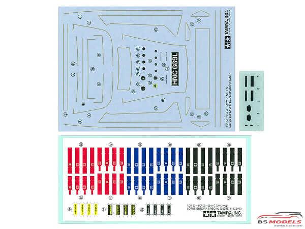 TAM24358 Lotus Europa Special Plastic Kit