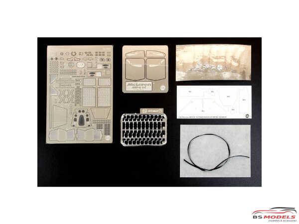 PNE20001 Mclaren MP4/2c Portugal GP  grade up parts Etched metal Accessoires