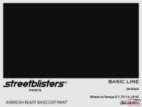 SB300015 Jet black Paint Material