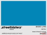 SB300017 Light blue Paint Material