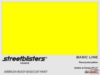 SB300031 Fluor yellow Paint Material