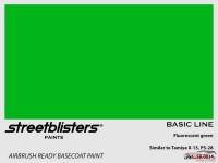 SB300034 Fluor green Paint Material