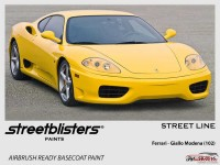 SB300116 Ferrari - Giallo Modena (102) Paint Material