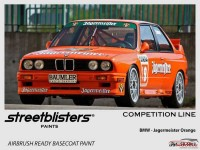 SB306002 BMW - Jagermeister Orange Paint Material