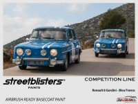 SB306003 Renault - Bleu France Paint Material