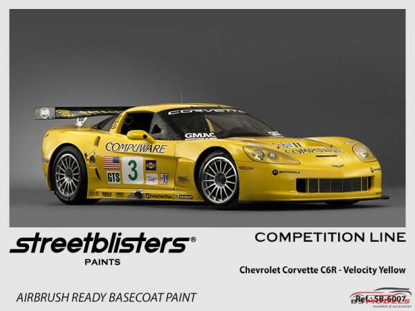 SB306007 Chevrolet - Velocity Yellow Tintcoat Paint Material