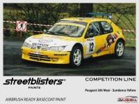 SB306012 Peugeot - Sundance Yellow Paint Material