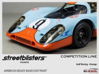 SB306024b Ford / Porsche - Gulf Orange Paint Material