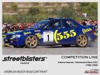 SB306030 Subaru - Montecarlo Blue 53c Paint Material