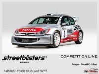 SB306036 Peugeot 206 WRC Silver Paint Material