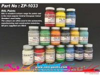 ZP1033-3020 RAL 3020 Traffic Red Paint 60 ml Paint Material