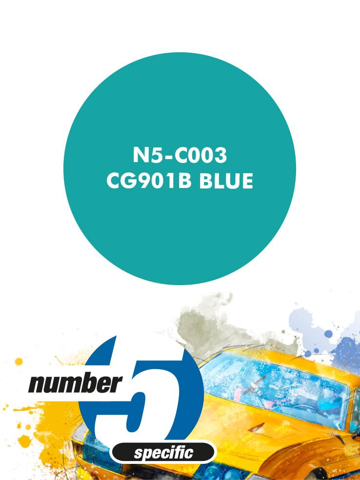 N5C003 CG901B  Blue Paint Material