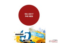 N5C017 F40 Red Paint Material