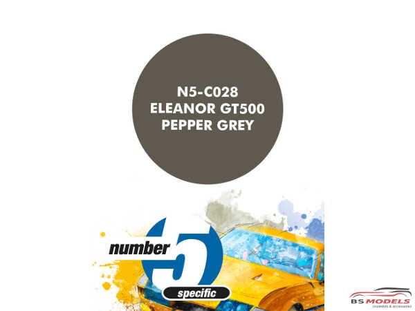 N5C028 Eleanor GT500 Pepper Grey Paint Material