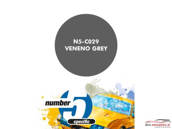 N5C029 Veneno Grey Paint Material
