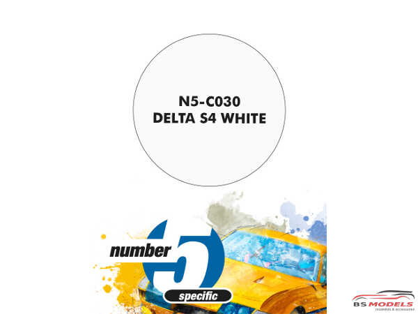 N5C030 Delta S4 White Paint Material