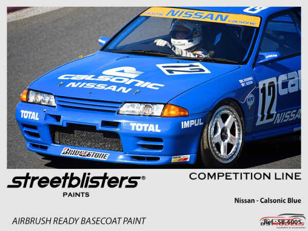 SB306005 Nissan Calsonic Blue Paint Material