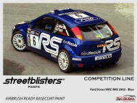 """SB306048 Ford WRC MK I  2002 """"RS"""" Blue Paint Material"""