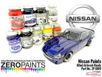 ZP1065-BT2 Nissan Champion Blu (exclusive for R33 GTR-LM)  60ml Paint Material