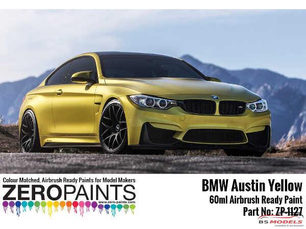ZP1127-3 BMW Austin Yellow  paint  60ml Paint Material