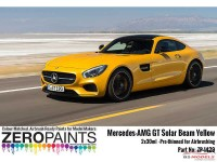 ZP1429 Mercedes-AMG  GT Solar Beam Yellow paint set 2 x 30ml Paint Material
