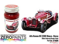 ZP1609 Alfa Romeo 8C  2300  Monza Rosso   60ml Paint Material